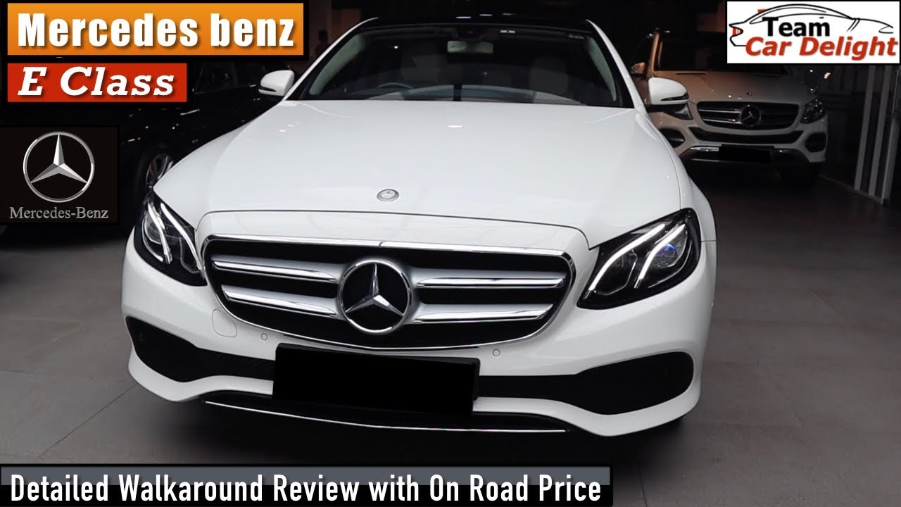 New Mercedes Benz E Class Detailed Review With On Road Price Interior Mercedes E Class India Youtube