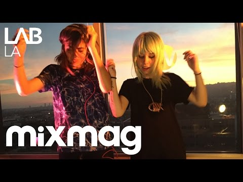 MIJA b2b ANNA LUNOE bass, house and hip hop set in The Lab L