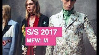 Gucci Spring Summer 2017 Men
