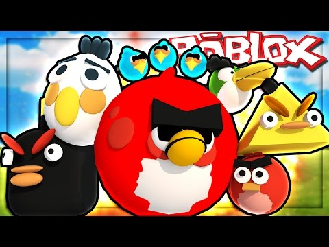 Roblox Adventures - ANGRY BIRDS IN ROBLOX! (Angry Birds Obby)