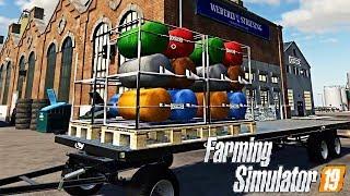 FARMING SIMULATOR 19 #41 - DIVENTO PRODUTTORE DI TESSUTO - NF MARSCH ITA