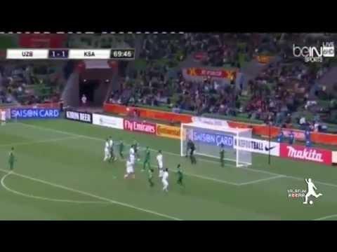 Saudi Arabia vs Uzbekistan 1-3 all goals & highlights [18-1-2015] AFC Asian Nations Cup 2015