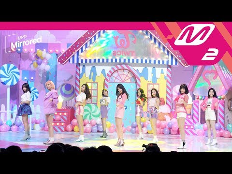 [Mirrored MPD직캠] 트와이스 거울모드 직캠 'What is Love?' (TWICE FanCam) | @MCOUNTDOWN_2018.4.12