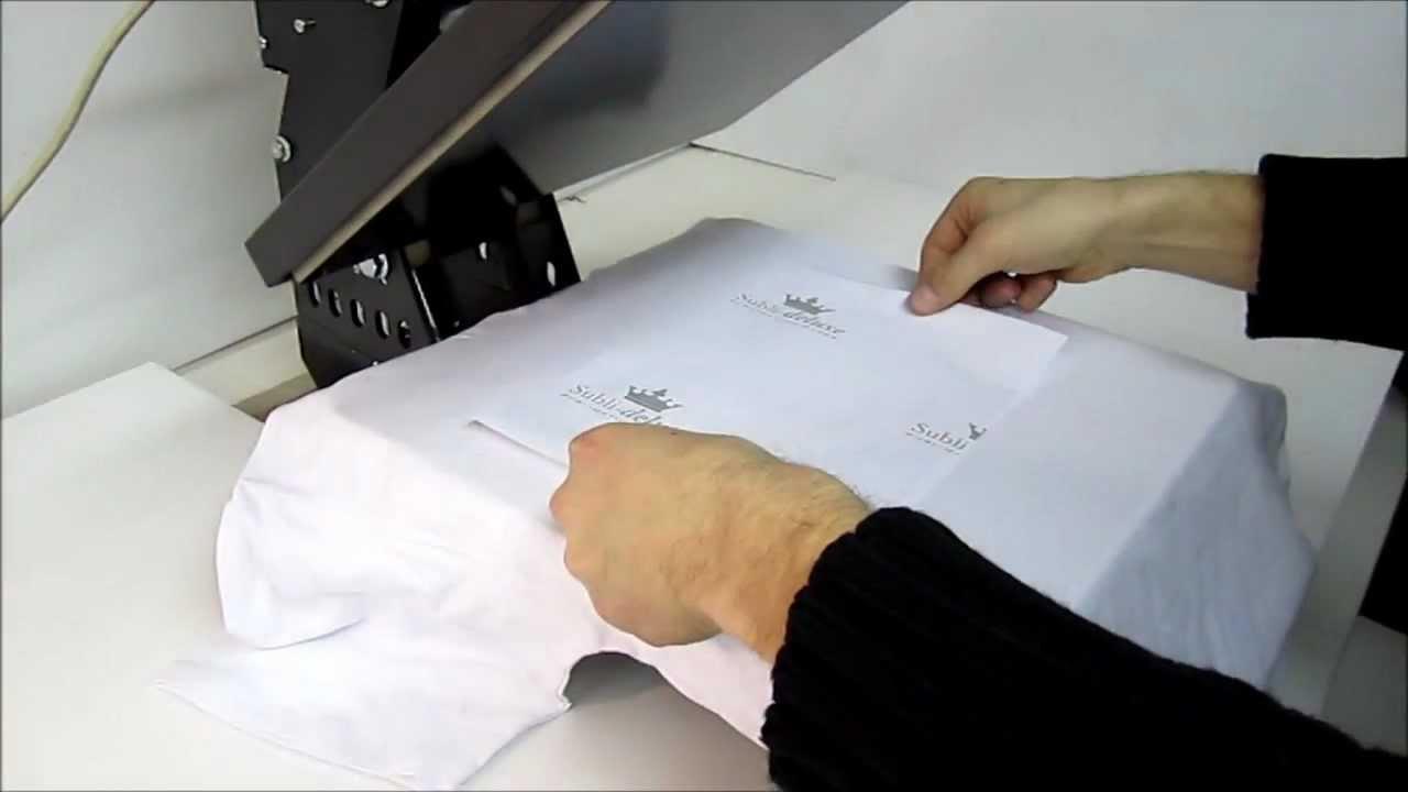 0a0d48397d697b Epson S22; Prasa; Sublimacja jasnej koszulki. - YouTube