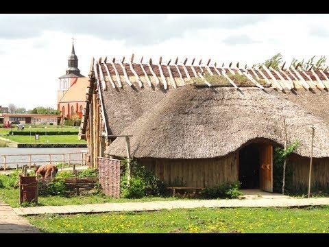Wikingerpark auf der Insel Wolin in Polen - am Ufer der Dziwna - ein Travelnetto-Video