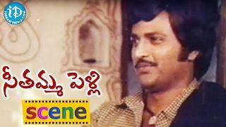 Seethamma Pelli Movie Scenes - Nutan Prasad Irritates Mohan Babu || Murali Mohan || Bapu