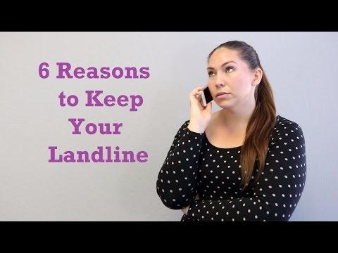 6 Reasons To Keep Your Landline Phone | Bay Alarm Medical