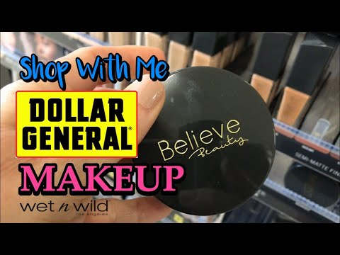 Dollar General Makeup SHOP WITH ME Believe Beauty & Wet N Wild Cosmetics thumbnail