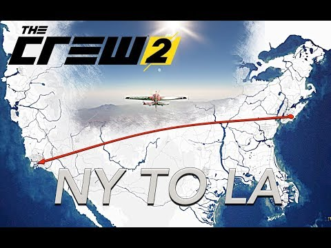 The Crew 2 - NY To LA FULL FLIGHT