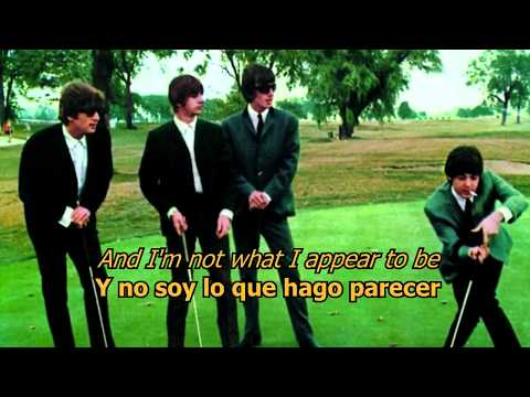 Im a loser  The Beatles LYRICSLETRA Original