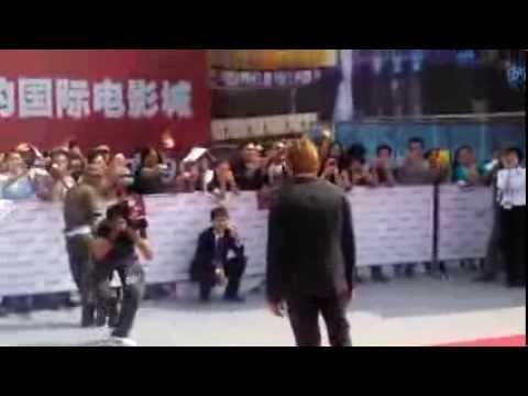 Ewan McGregor on red carpet for Qingdao Oriental Movie Metropolis