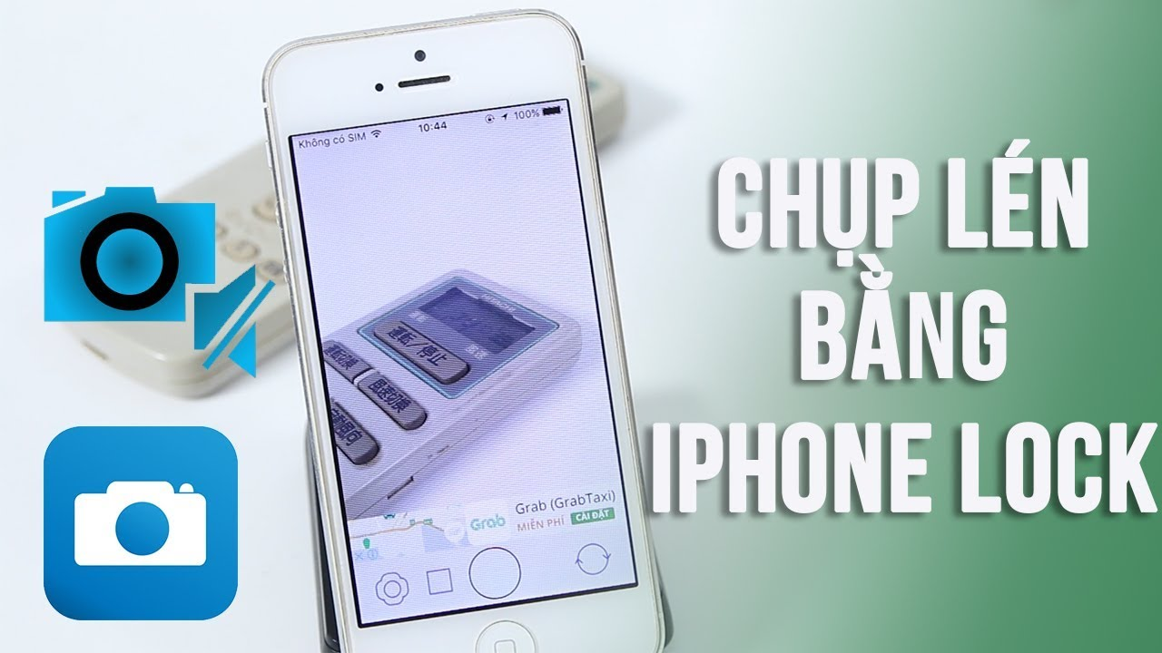 Tắt âm chụp ảnh mọi iPhone lock