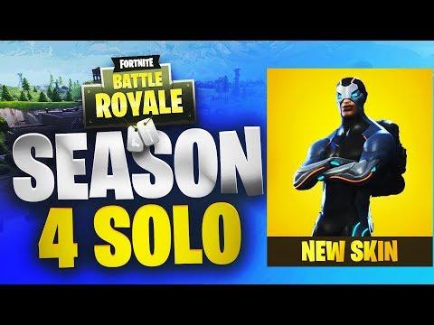 Season 4   Solo Win   Fortnite   No Commentary
