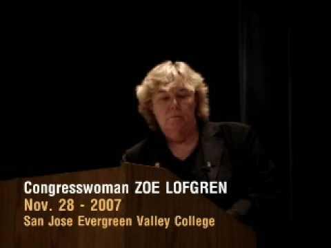 Congresswoman Zoe Lofgren being asked Naming Controversies