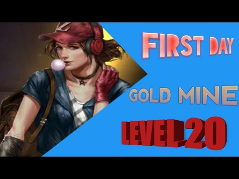 Attack Level 20 Gold Mine On The Last Empire War Z (LEWZ)