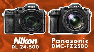 nikon dl24 500 vs panasonic lumix dmc fz2500 quick specs comparison
