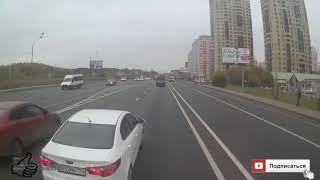 Месть дальнобойщиков хамству водителей