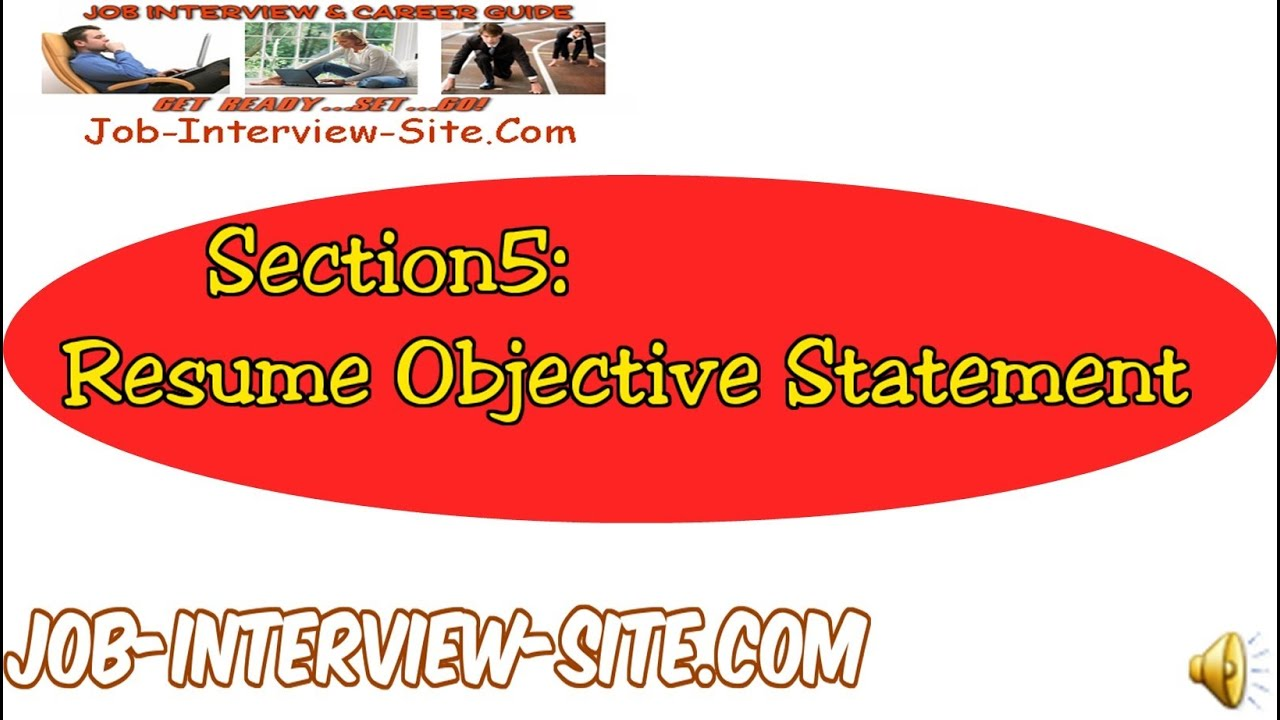 Resume Objectives Resume Objective Statements Explained YouTube – Objective of a Resume