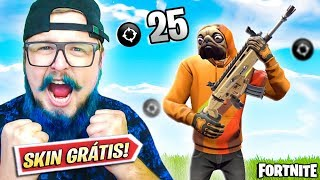 WANT TO WIN SKIN? 25 KILLS WITH THE PUZZLE OF THE FATHER-FORTNITE