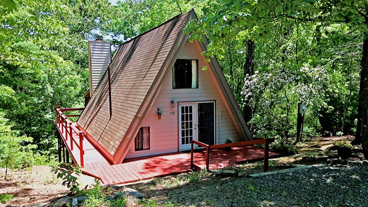 Lake Lure Real Estate Affordable A Frame Cabin On Half