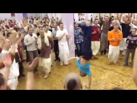A great worship of lord krishns