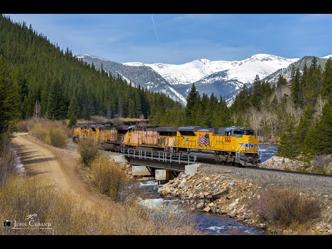 [HD] Union Pacific's Moffat Tunnel Subdivision on May 12, 2015