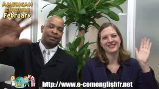 Culture Américaine - E-com Videocast Mensuel en Anglais - Fevrier.