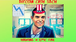 BITCOIN (CASH)- BCH - HALVING EXPLAINED! - BUY BITCOIN CASH TO MAKE QUICK MONEY? DUNNO, IT'S CRYPTO!