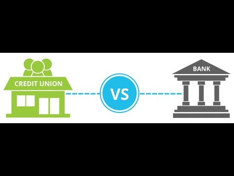 Where is the best place to save money, Bank or Credit Union ?