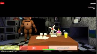 ROBLOX: Night 7 10/20 Mode COMPLETE 1ST TRY!!!!