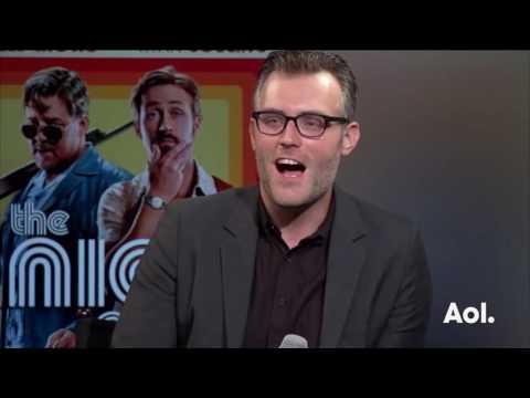 Ryan Gosling, Russell Crowe, Matt Bomer, Shane Black, & Joel Silver On The Nice Guys| BUIL