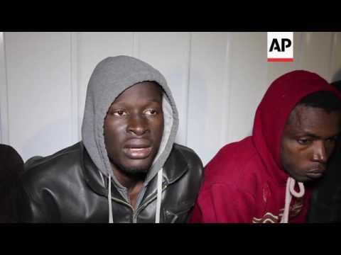 Libyan coast guard detains 120 migrants