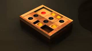 Wooden Puzzles: Solution to Setting Sun puzzle