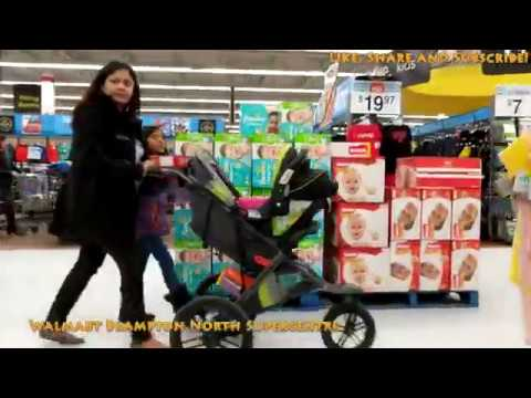 [4K] Walmart Brampton Canada, Christmas Weekend
