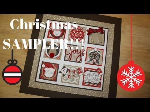 Epi. #528 ~ December/Christmas Sampler 2016 Stampin' Up! Style