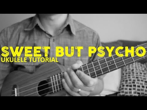 Sweet But Psycho - Ava Max - EASY Ukulele Tutorial - Chords - How To Play