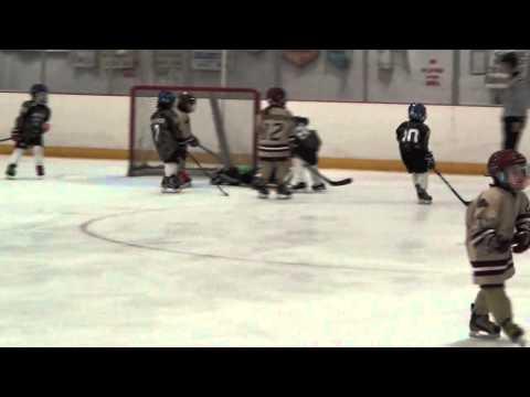 mite hockey BLOOPERS