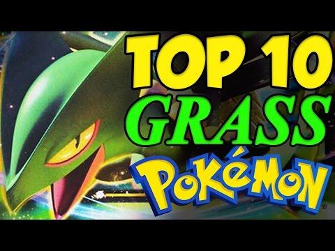 TOP 10 STRONGEST GRASS TYPE POKEMON! Pokemon Sun And Moon Top 10