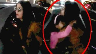 Aishwarya Rai Mother Falls And Aaradhya Get Hurts On Airport - Full Video