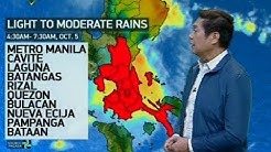 UB: Weather update as of 6:13 a.m. (October 5, 2017)