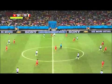 Switzerland vs France 2-5 (20/06/14) HIGHLIGHTS