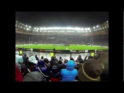 Stade de France - France Ecosse - La Marseillaise - GOPRO