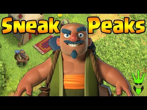 WHO IS THIS GUY?! - March Update Sneak Peeks! - Clash of Clans - New Magic Items!