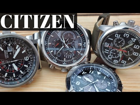 Citizen Eco Drive Watches - Great Value Complications