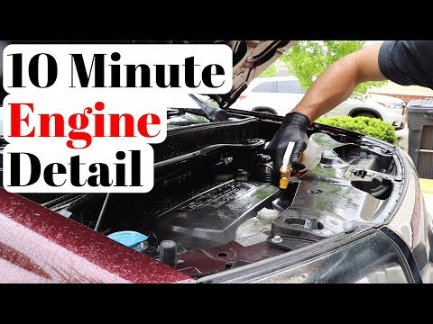 The Simplest & Fastest Way To DEEP CLEAN A Car Engine Bay!