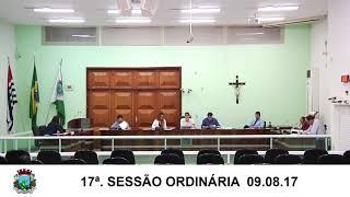 Sessão da Câmara 09.08.17