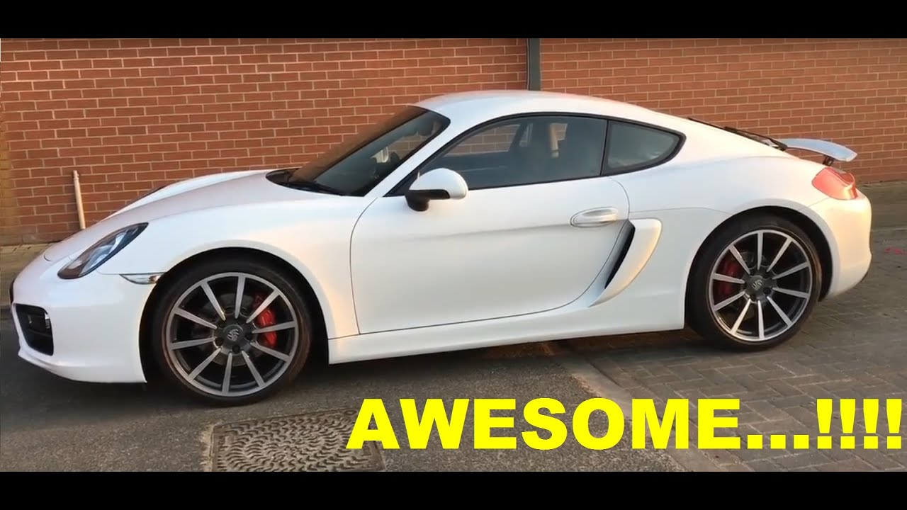 porsche cayman s 981 gt4 side scoop vent conversion youtube. Black Bedroom Furniture Sets. Home Design Ideas