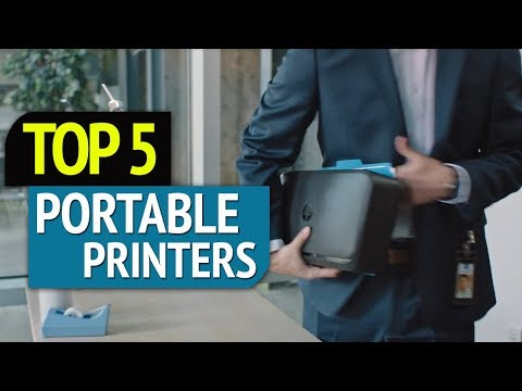 TOP 5: Best Portable Printers