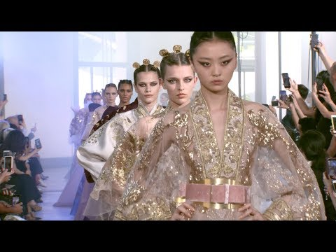 ELIE SAAB Haute Couture Autumn Winter 2019-20 Fashion Show