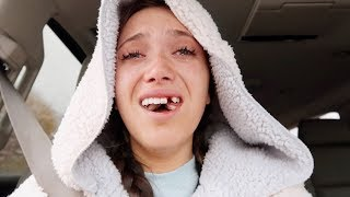 One of Hannah Meloche's most viewed videos: i got my front tooth & wisdom teeth removed (vlog + story)